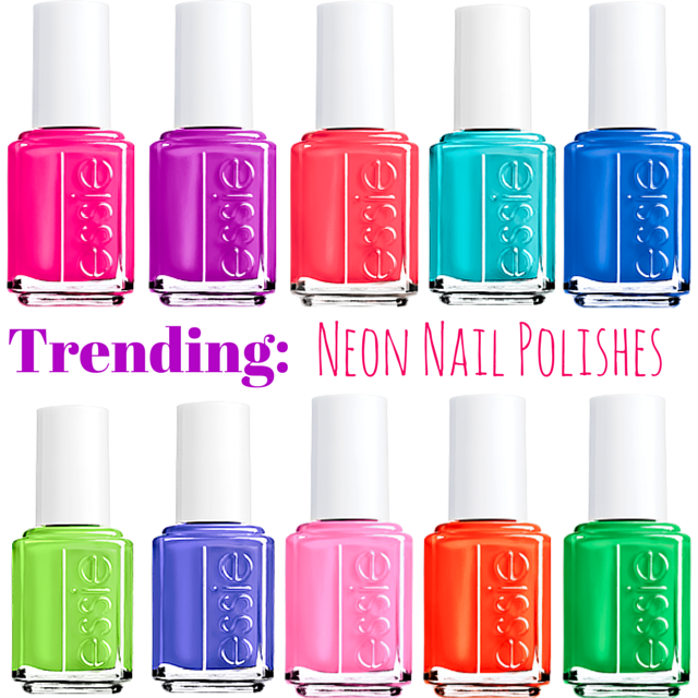 Trending: Neon Nail Polish + Rockstud Giveaway - Law of Fashion Blog