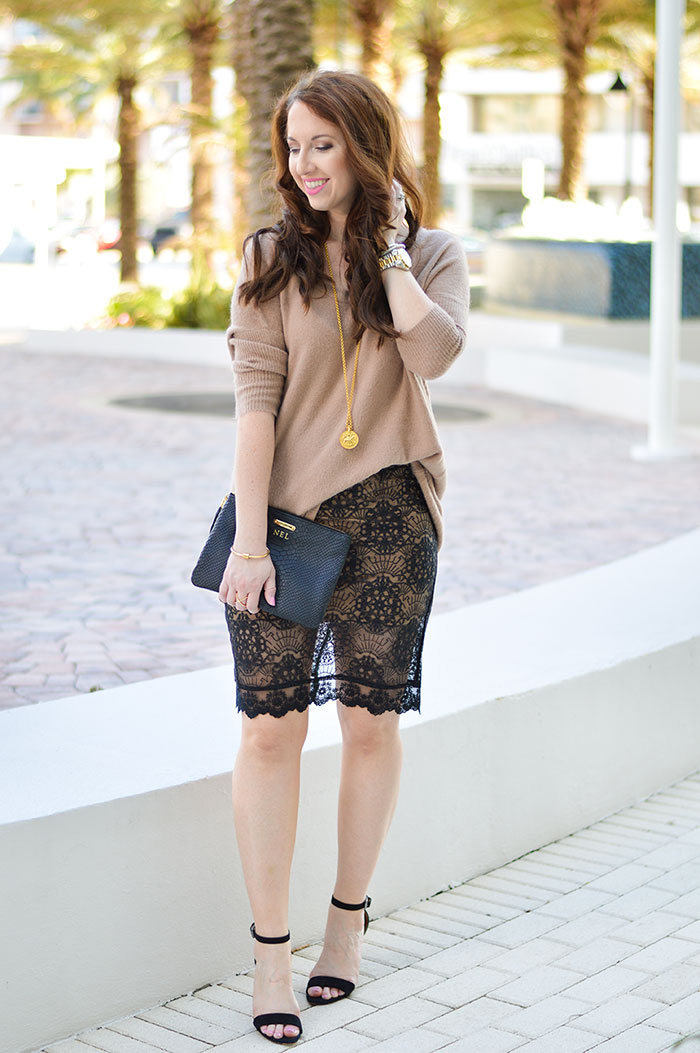 lace pencil skirt of fashion