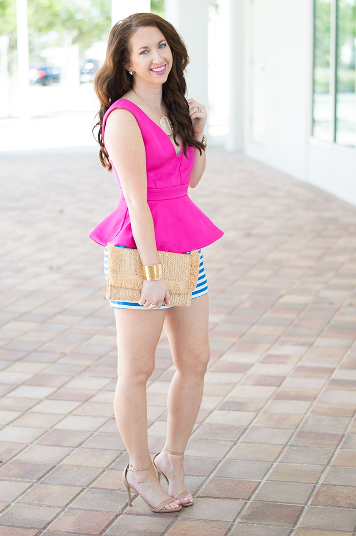 Pink And Blue Law Of Fashion Blog