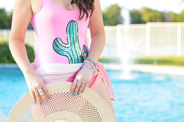 545c23d91b5 Sequin Cactus One Piece - Law of Fashion Blog