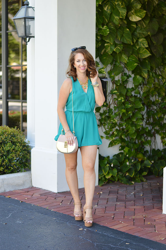 astr sleeveless romper