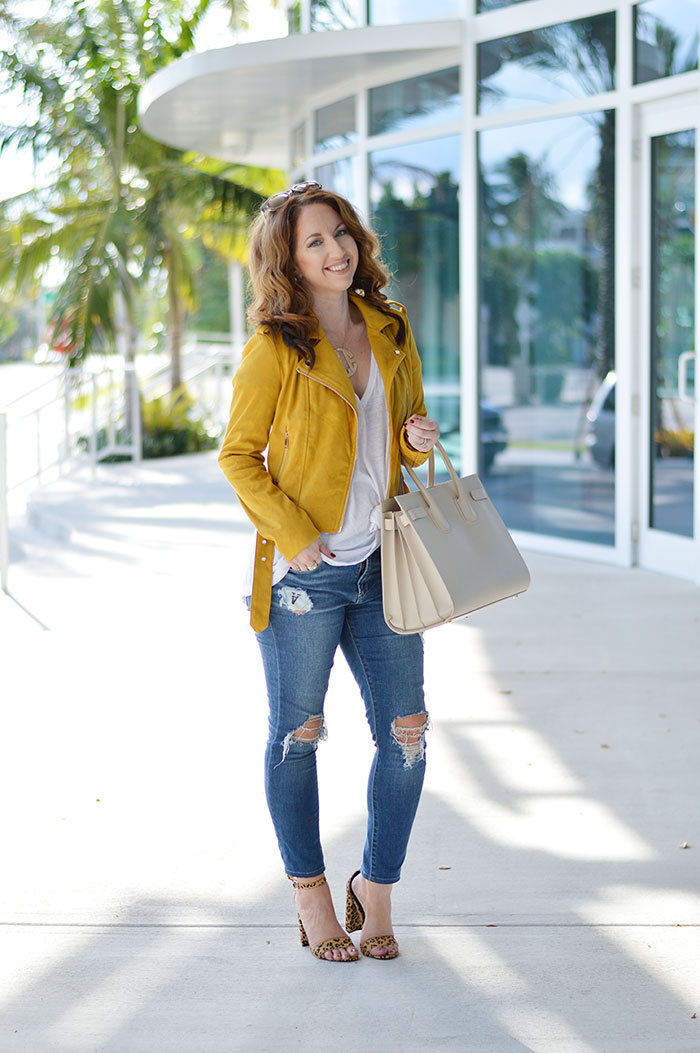 yellow and leopard for fall