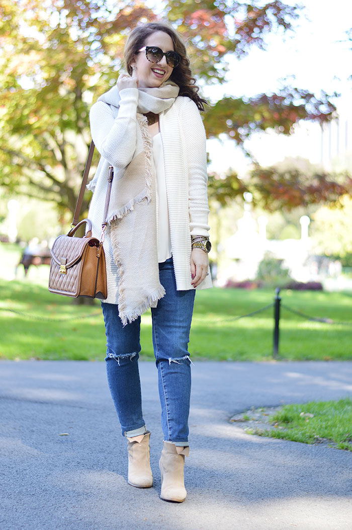 comfortable fall look