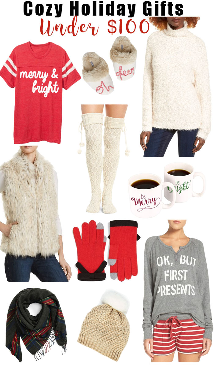 Cozy holiday gifts under