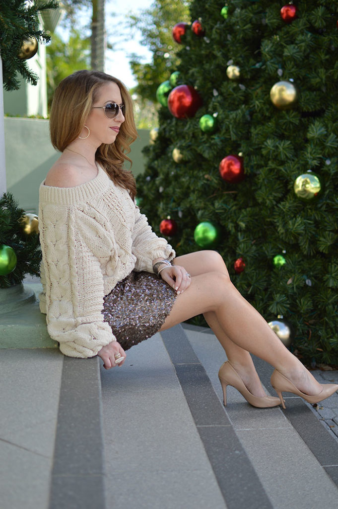 comfortable holiday look