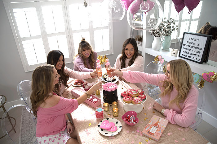 throw a galentines day party